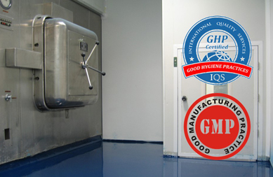 Resin flooring in accordance with GMP regulations