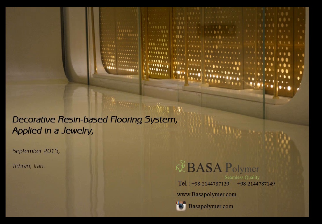 Decorative Resin-Based Flooring System